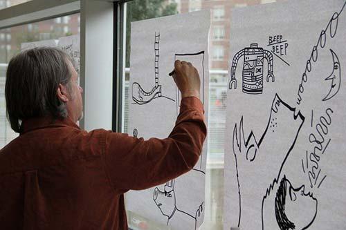 教授RISD授课照片